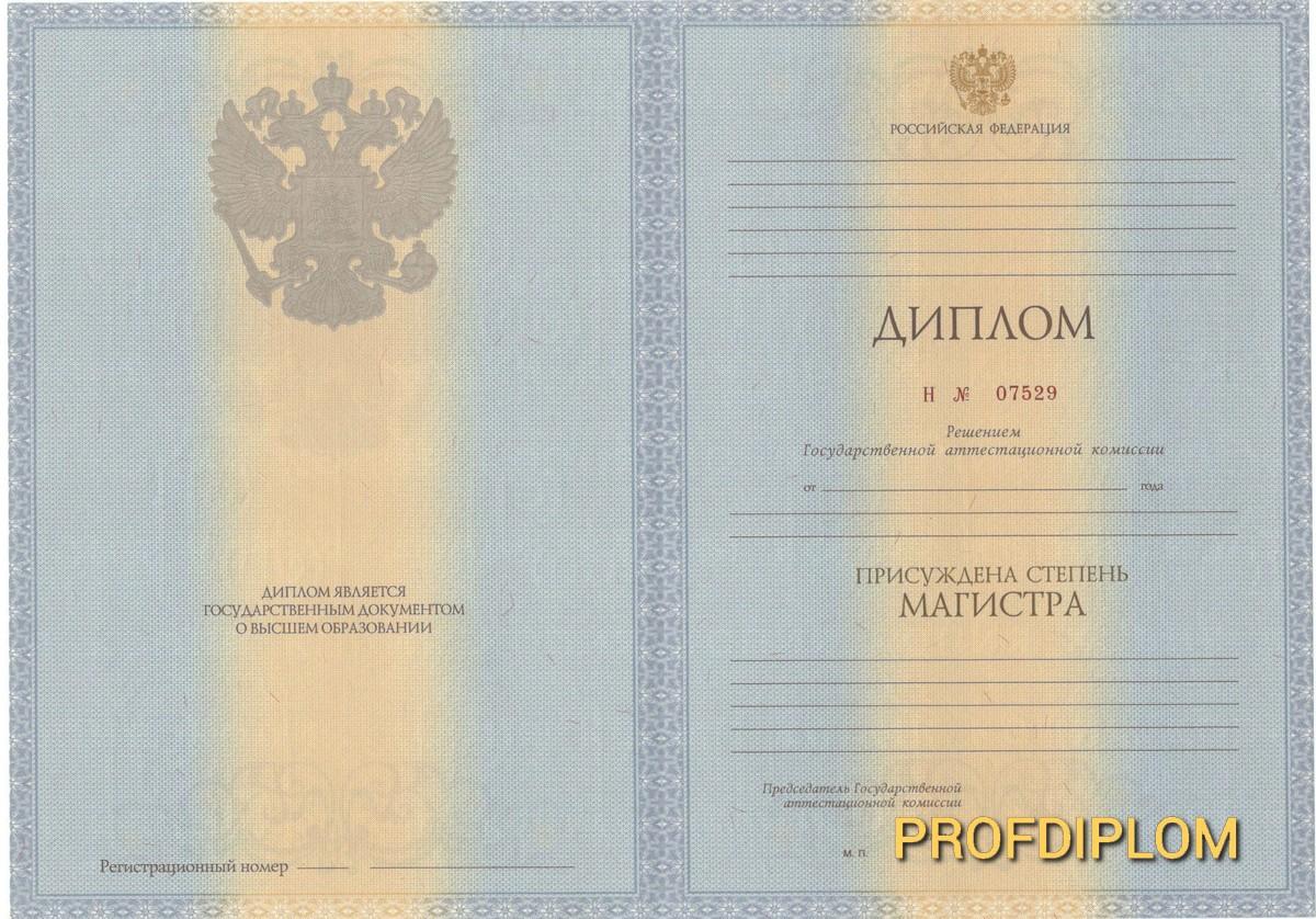 Диплом магистра 2011-2013 купить