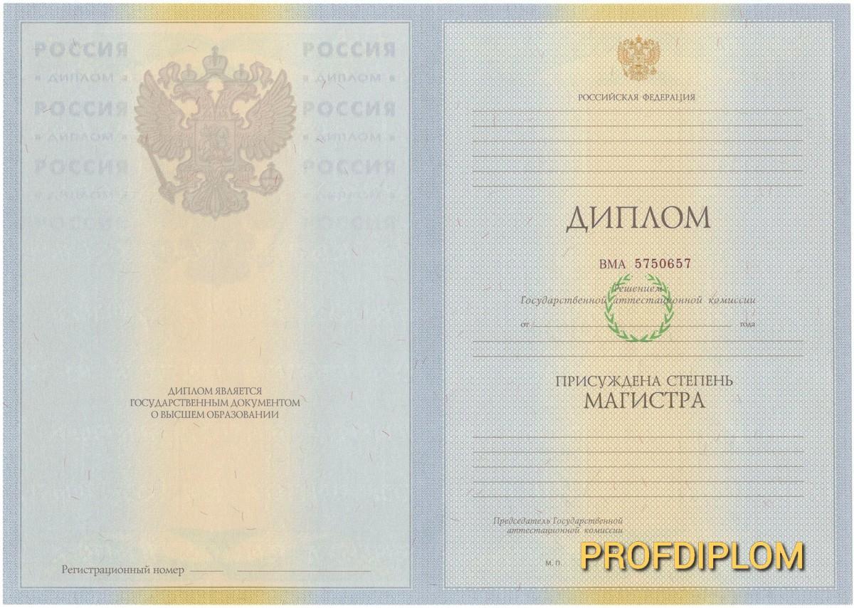 Диплом магистра 2009-2011 купить