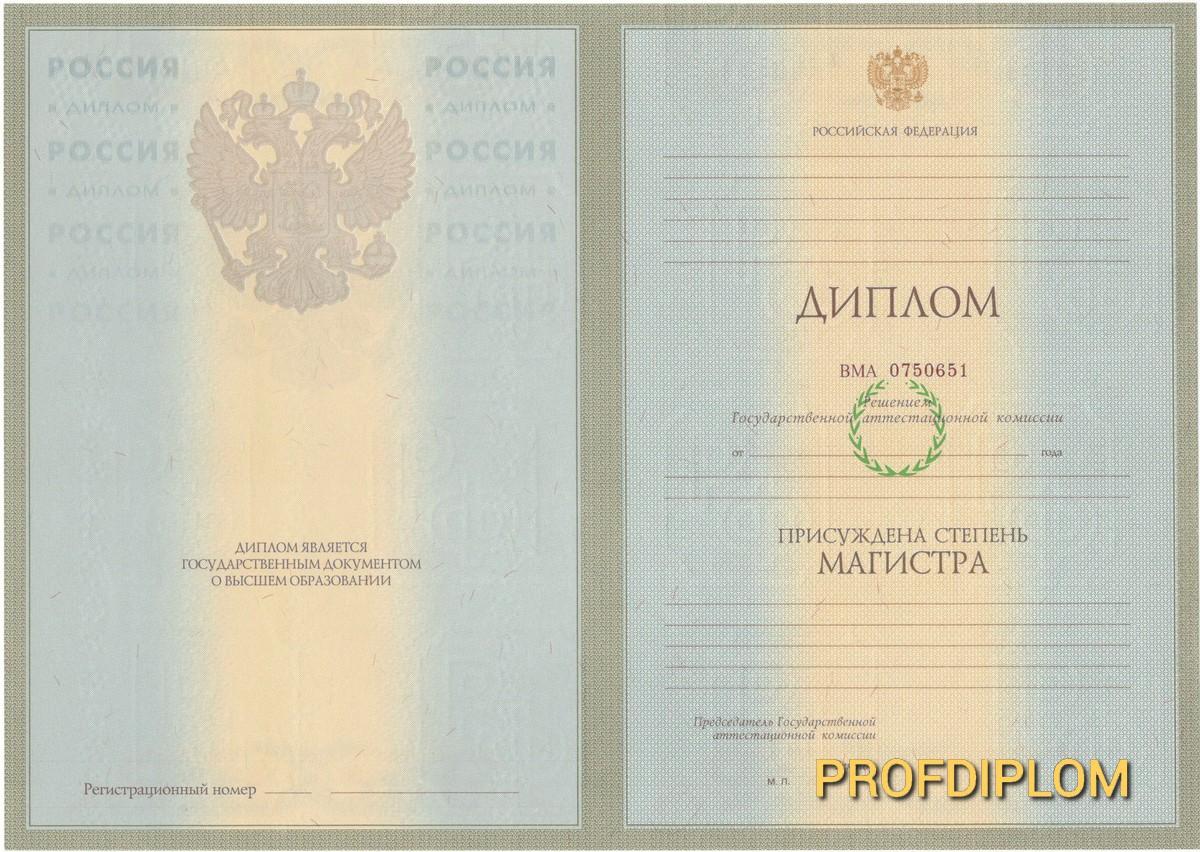 Диплом магистра 2004-2008 купить